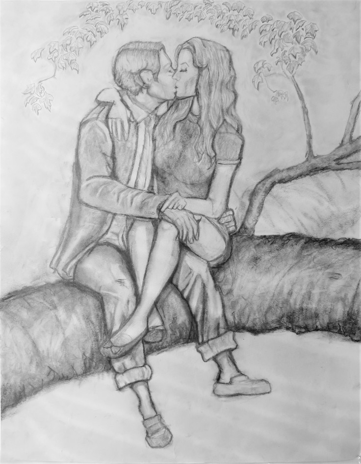Chapter 12 - Franklin & Genevieve Kissing in Tree