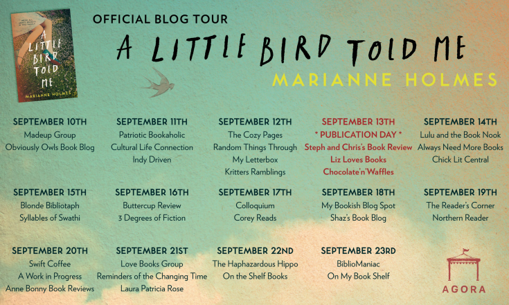 A Little Bird Told Me blog tour poster 1.png